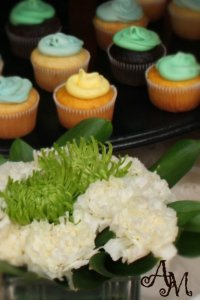 Baby Shower - Cupcakes & Flowers
